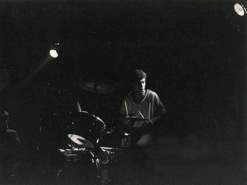 Mario Holze an den Drums